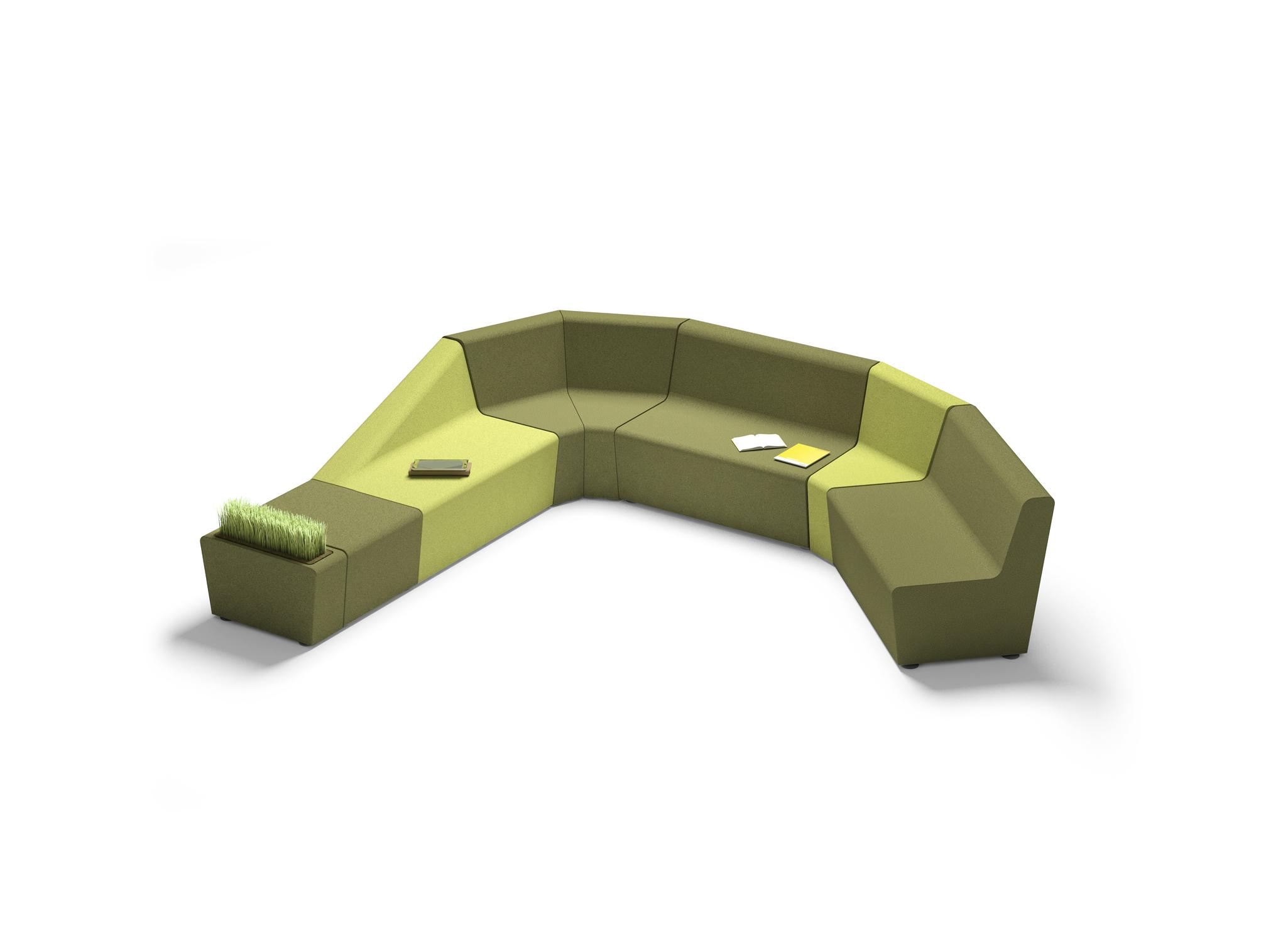 Chauffeuse confortable 2 places avec dossier inclin - Chauffeuse confortable ...