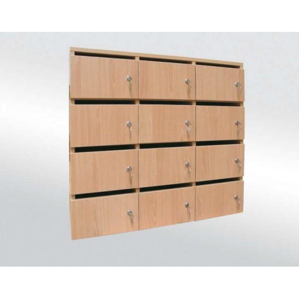 meuble boite lettres sur mesure surme le moblier pour vos espaces. Black Bedroom Furniture Sets. Home Design Ideas