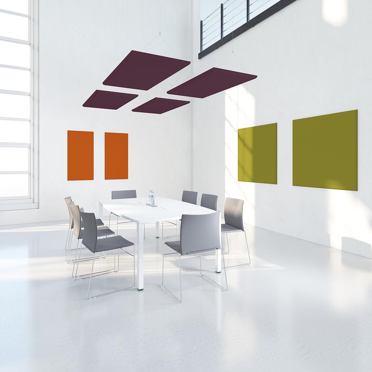 panneau acoustique design green mood panneaux acoustiques de mousse with panneau acoustique. Black Bedroom Furniture Sets. Home Design Ideas