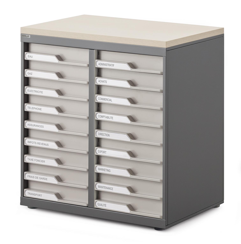 Meubles tiroirs le moblier pour vos espaces for Meuble a tiroirs