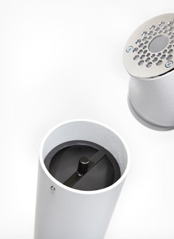 cour Cendrier cr/éatif design t/élescopique ext/érieur etc. bureau grand cendrier portable coupe-vent pour salon